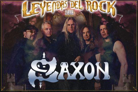 Confirmados SAXON para el LEYENDAS DEL ROCK 2018