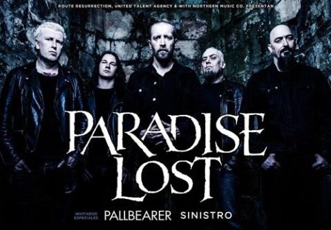 Recordamos la gira de Paradise Lost a finales de octubre