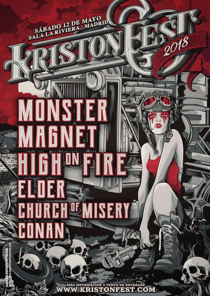 Cartel completo Kristonfest 2018