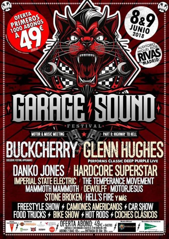 Entradas a la venta para la 2a edicion del Garage Sound Fest 1