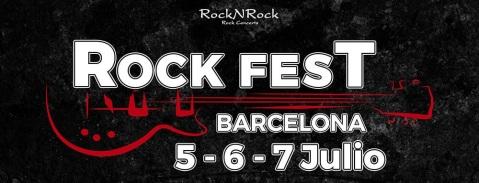 30% dto en billetes de tren para ROCK FEST BARCELONA
