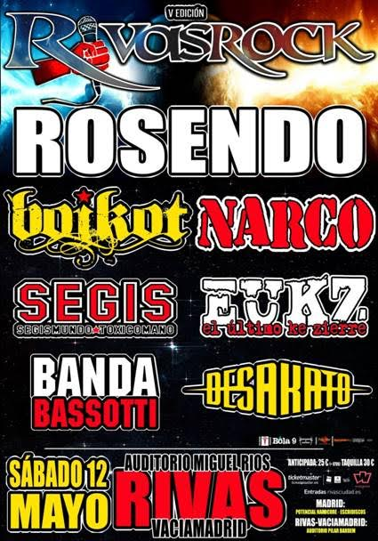 Rivas Rock Festival 2018