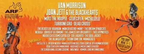 Van Morrison y más confirmados al Azkena Rock Festival 2018