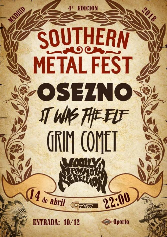 Ya disponibles las entradas para el Southern Metal Fest 2018