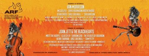 Azkena Rock Festival cierra su cartel para 2018