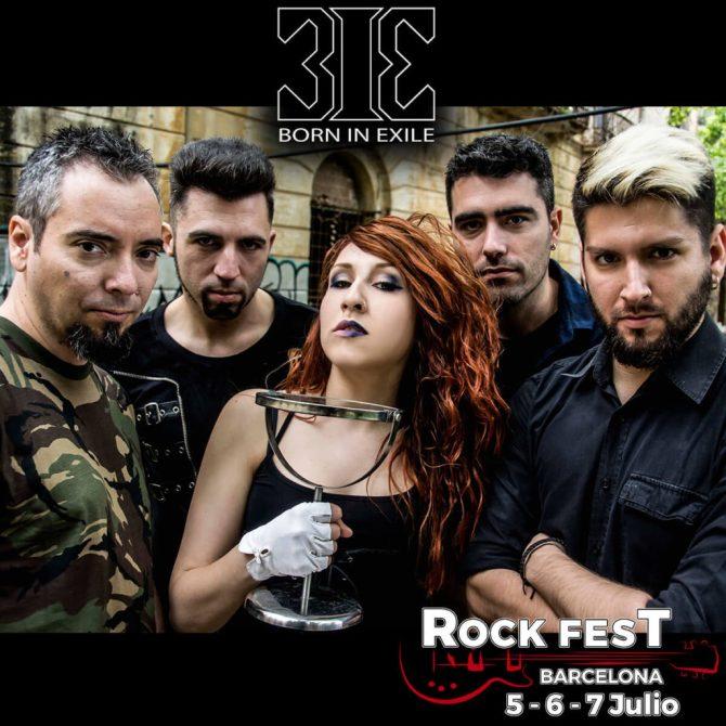 Born in Exile_Rock Fest Barcelona 2018