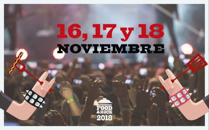 Movember Food & Rock vuelve a la carga en 2018
