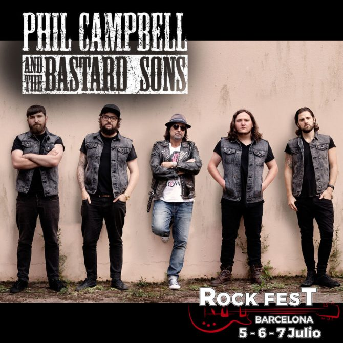 Phil Campbell and the bastard sons_Rock Fest Barcelona 2018