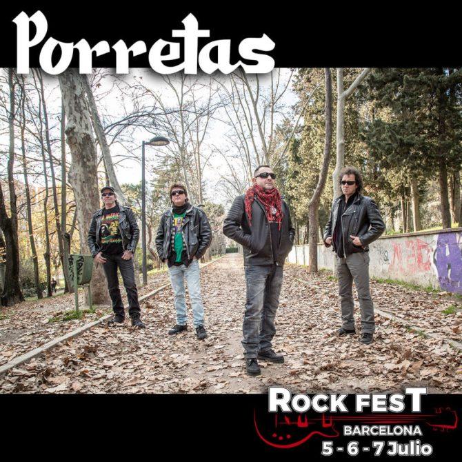 Porretas_Rock Fest Barcelona 2018