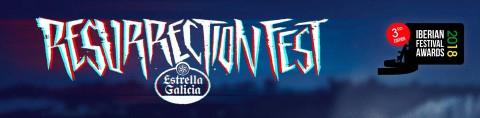 Resurrection Fest triunfa en el Iberian Festival Awards 2018