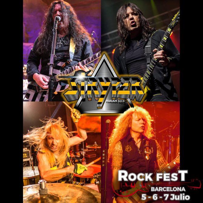 Stryper_Rock Fest Barcelona 2018
