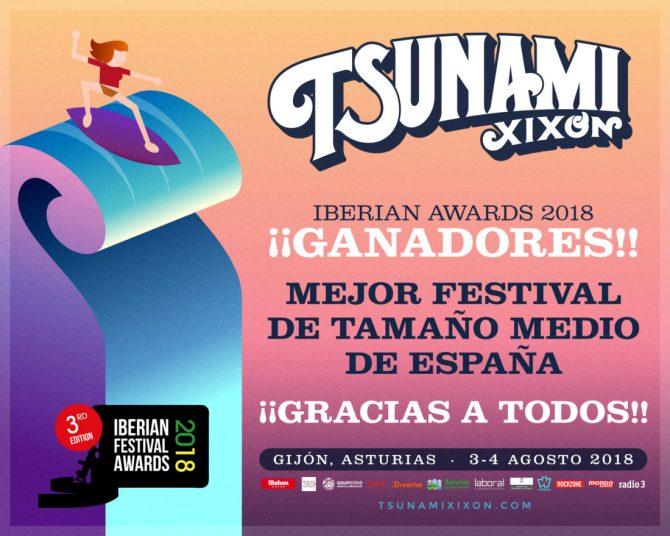 Tsunami Xixón Iberian Festival Awards 2018