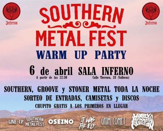 Calentando motores para el Southern Metal Fest 2018