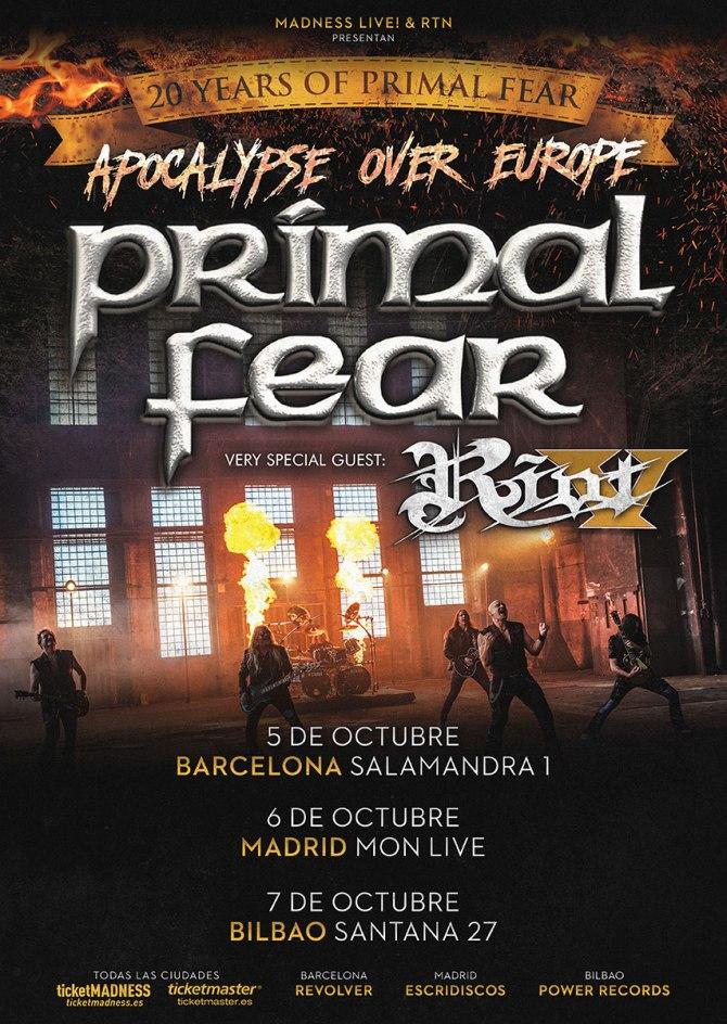 Cartel_Primal Fear + Riot V