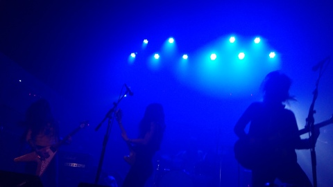 Crónica de Honeymoon Disease + Árida en Madrid, 13042018
