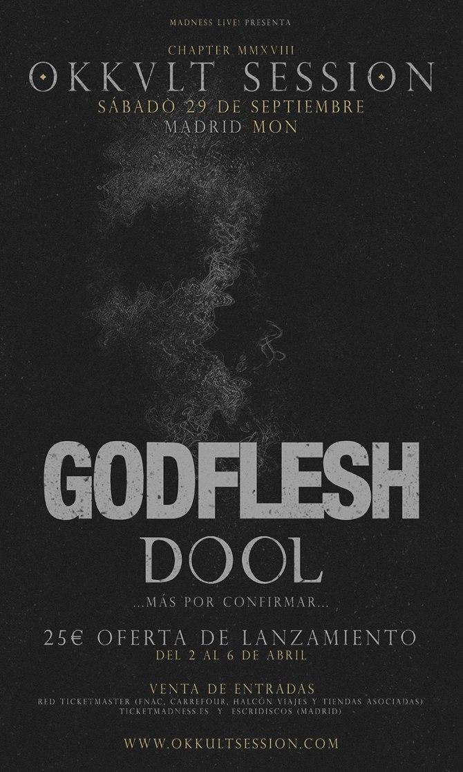 Godflesh y Dool_Okkult Session 2018