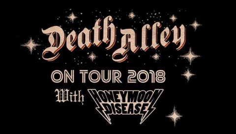 Honeymoon Disease vuelven junto a Death Alley en mayo 2018