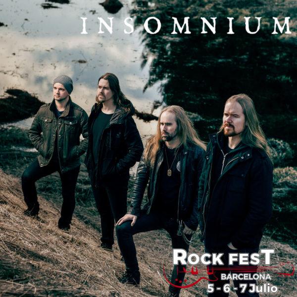 INSOMNIUM_Rock Fest 2018
