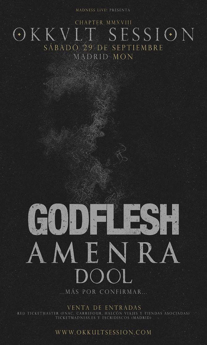 Okkult Session 2018_Godflesh_ Dool_Amenra