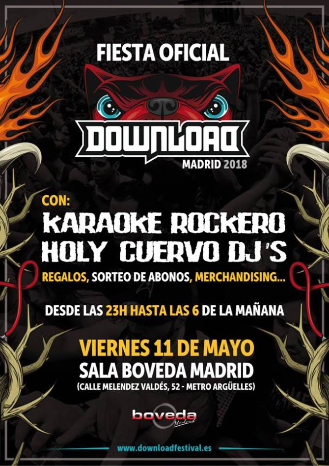Primera Fiesta Oficial Download Madrid 2018