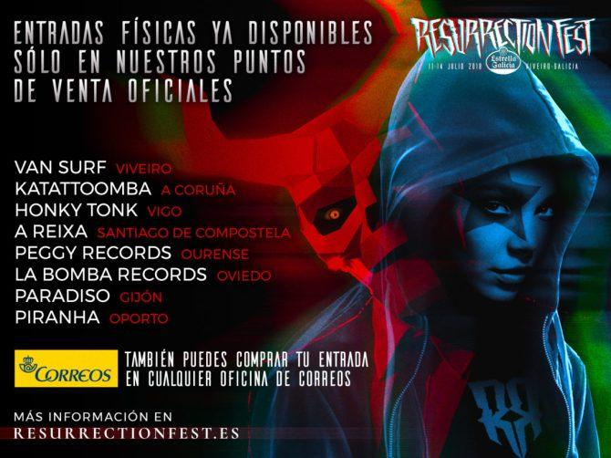 Puntos de Venta_Resurrection Fest 2018
