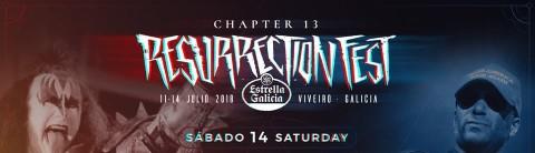 Resurrection Fest presenta el cartel del sábado, 14 julio 2018