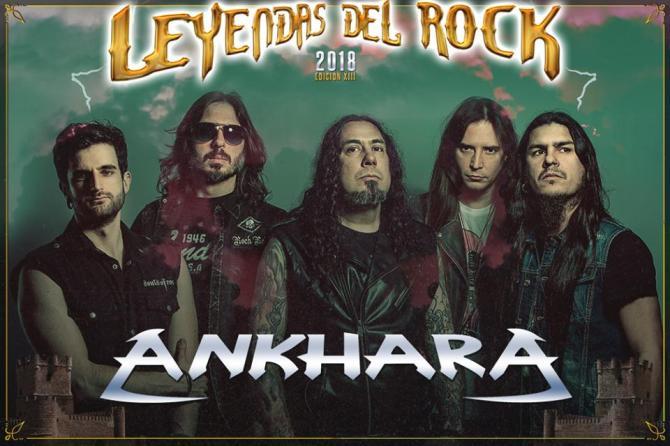 Se confirma que Ankhara actuará en el Leyendas del Rock 2018