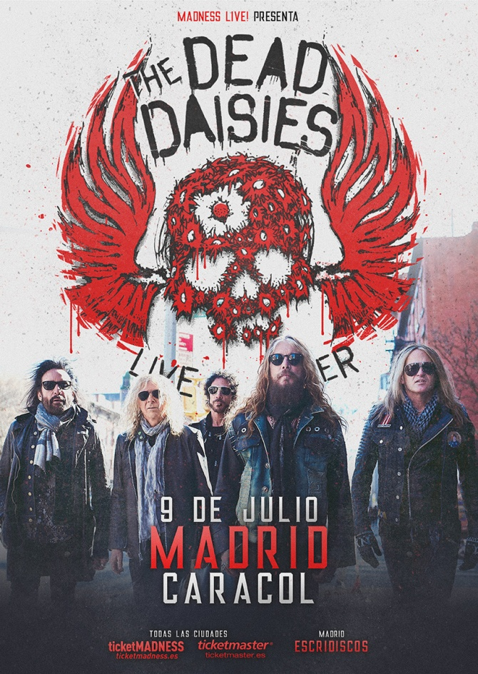The Dead Daisies Madrid 2018