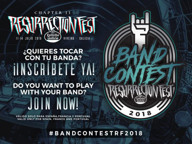 Band Contest Resurrection Fest 2018