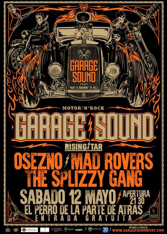 Esta noche gran final 'Rising Star' del Garage Sound Fest