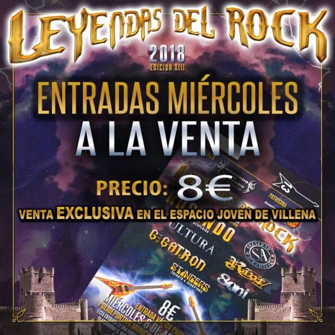 fiesta de bienvenida Leyendas del Rock