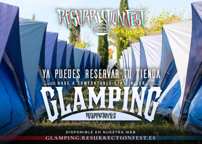Glamping Resurrection Fest 2018