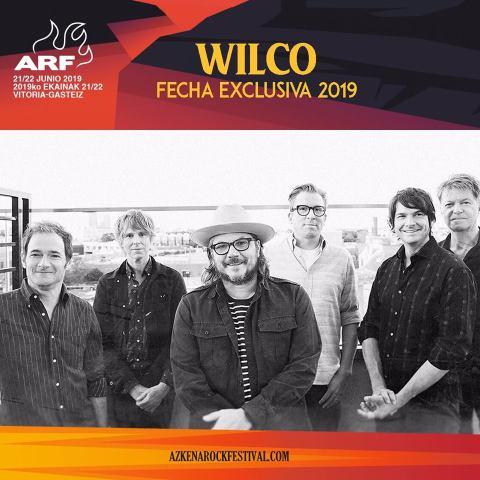 Azkena Rock Festival confirma a Wilco para su edición en 2019