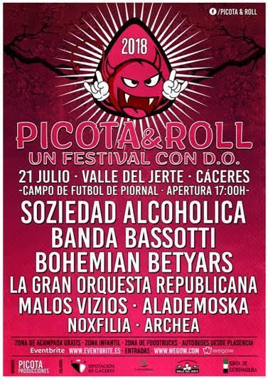 Cartel Completo_Picota & Roll_2018