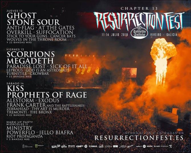 Comienza la cuenta atrás para el Resurrection Fest 2018