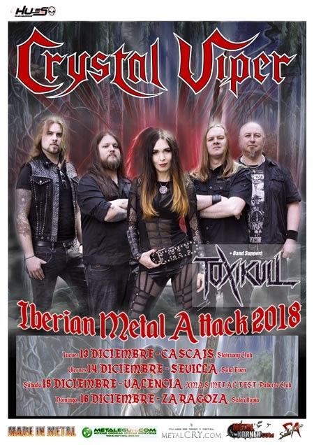 Crystal Viper Iberian Metal Attack 2018