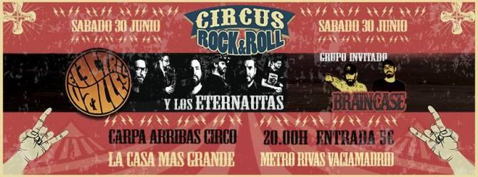 El sábado Electric Valey y los Eternautas + Braincase en Rivas