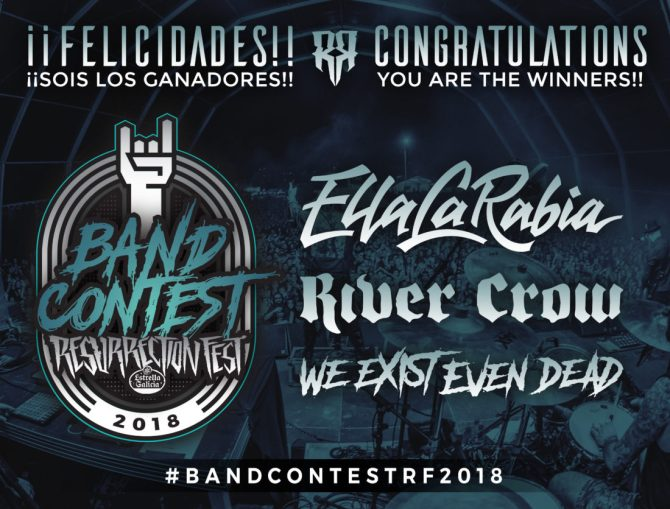 Ganadores del Band Contest para el Resurrection Fest 2018