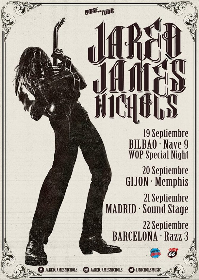 Jared James Nichols_gira_2018