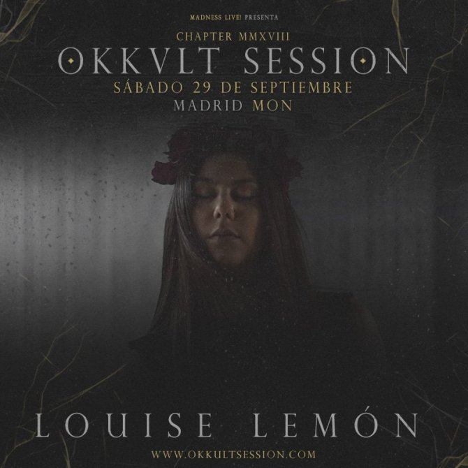 Louise Lemón Okkult Session 2018