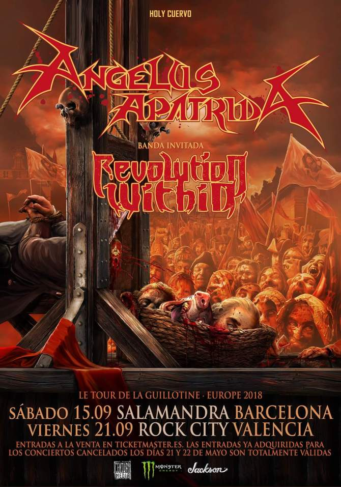 Revolution Within_Angelus Apatrida_ Barcelona y Valencia