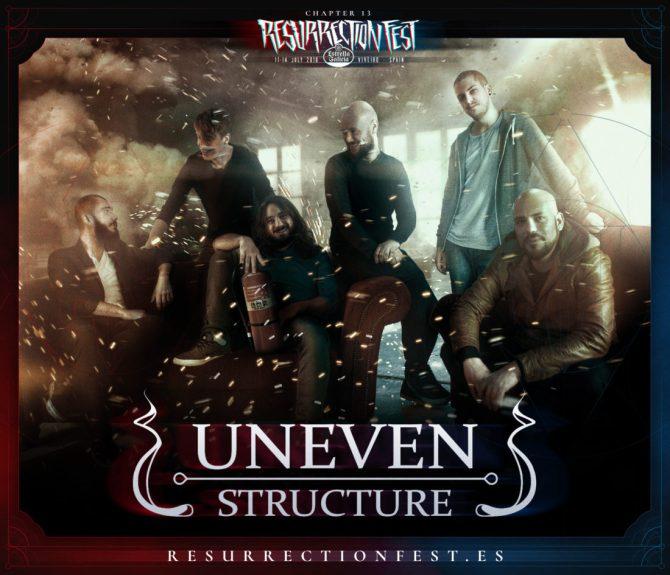 Uneven Structure se une al Resurrection Fest 2018