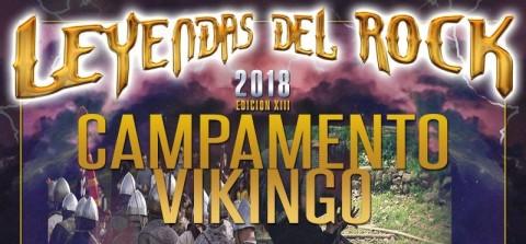 Campamento Vikingo en el Leyendas del Rock 2018