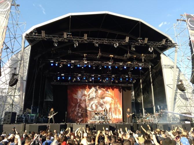 Crónica del Download festival Madrid, jueves 28 junio 2018