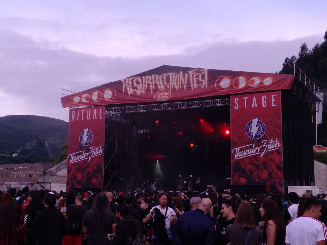 Crónica del Resurrection Fest 2018 Warm Up