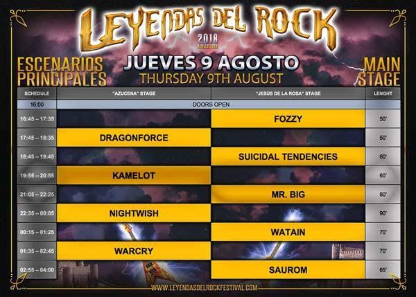 Horarios_escenarios_principales_jueves_9_agosto_leyendas_del_rock_2018