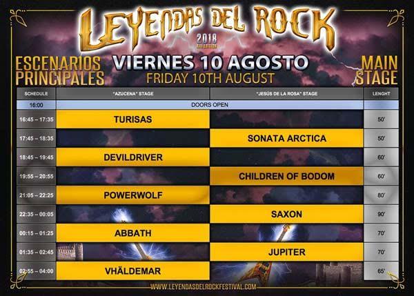 Horarios_escenarios_principales_viernes_10_agosto_leyendas_del_rock_2018