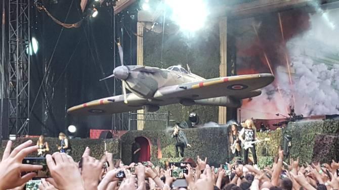 Iron Maiden, Wanda Metropolitano Madrid 14-07-18