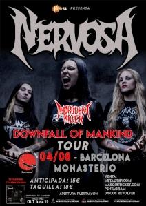 Nervosa_Imprudent Killer_Barcelona_2018