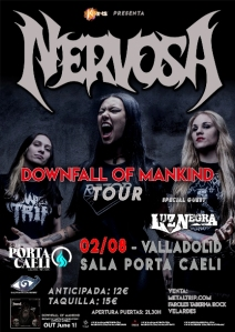 Nervosa_Luz Negra_Valladolid_2018